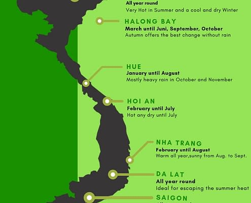 Weatherregion Map Vietnam
