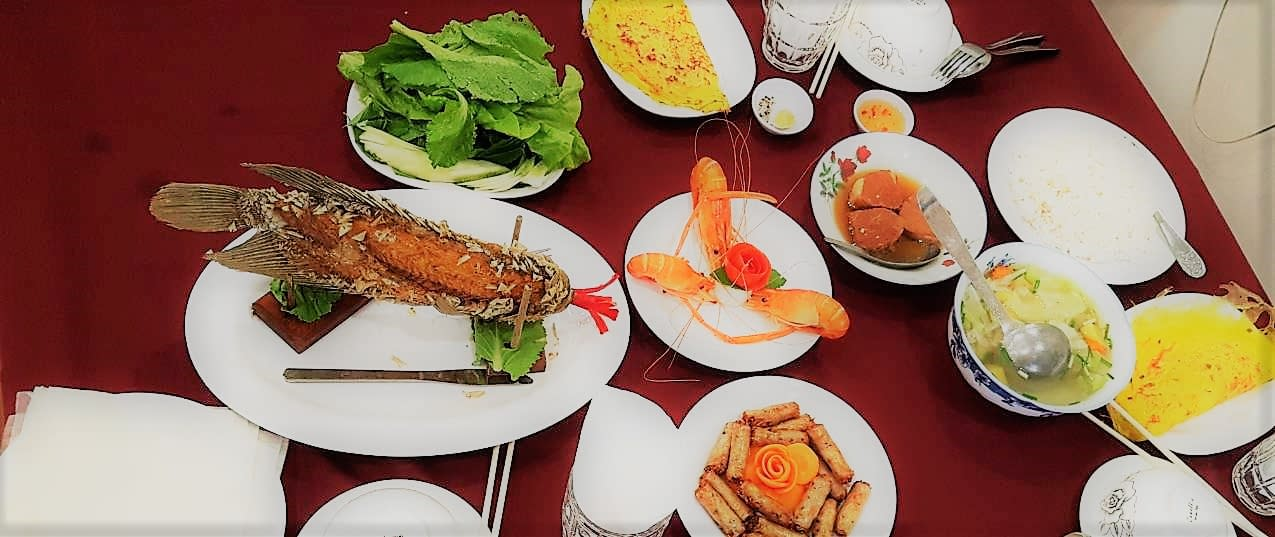 Delicious Mekong Delta Lunch