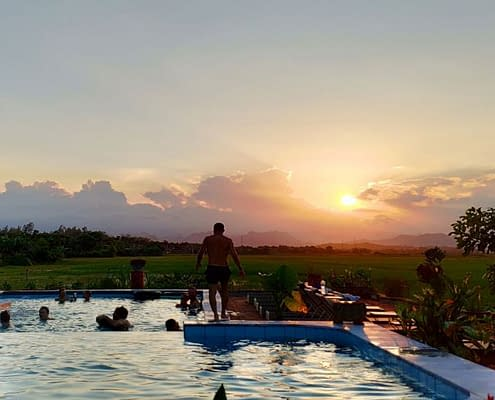 Phong Nha Farmstay Swimming Pool