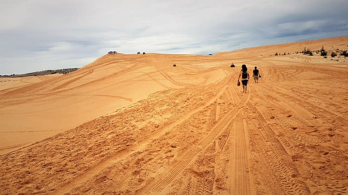 AT the Dunes Mui Ne