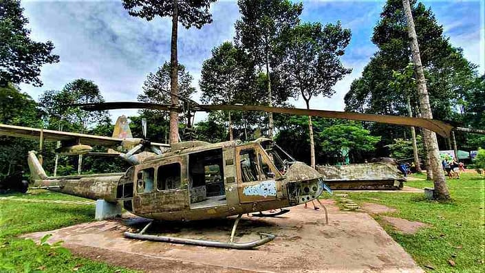 Cu Chi Ben Duoc Helicopter
