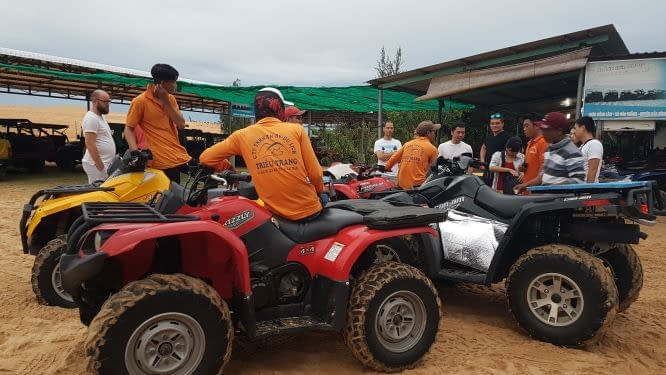 Quads in Mui Ne
