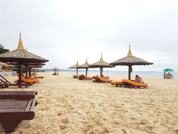 Mui Ne Beach Umbrellas